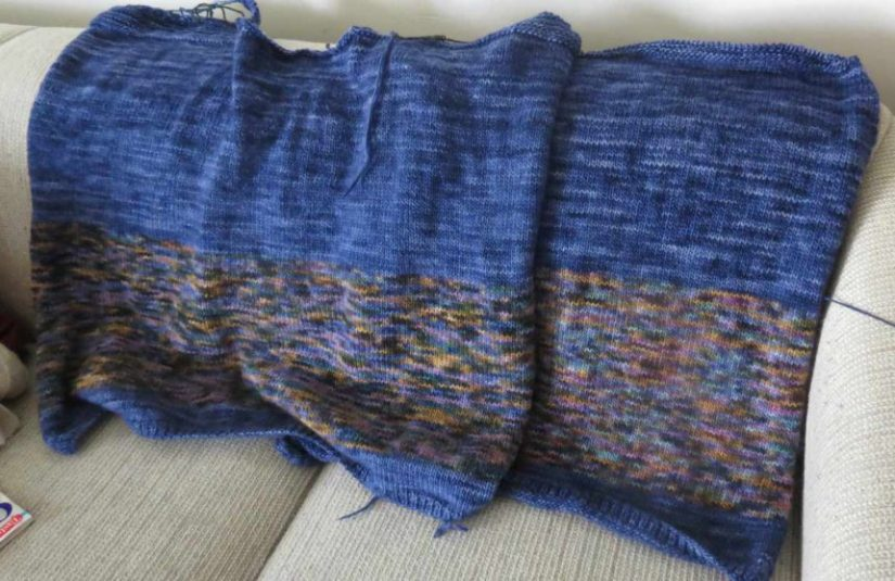 WIP Wednesday: The Worsted Boxy