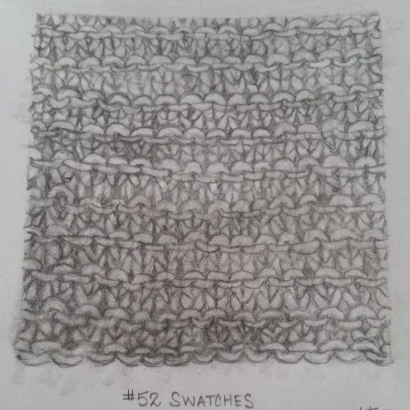 Mo. 1 Wk 2 – Garter Stitch #52swatches